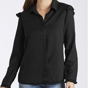 Black long sleeve blouse